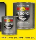 Rustoleum Heat Resistant 750C  Black 750ml